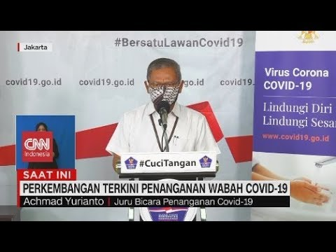 Update Corona 9 April: Positif 3.293, Sembuh 252, Meninggal 280 - CNN Indonesia