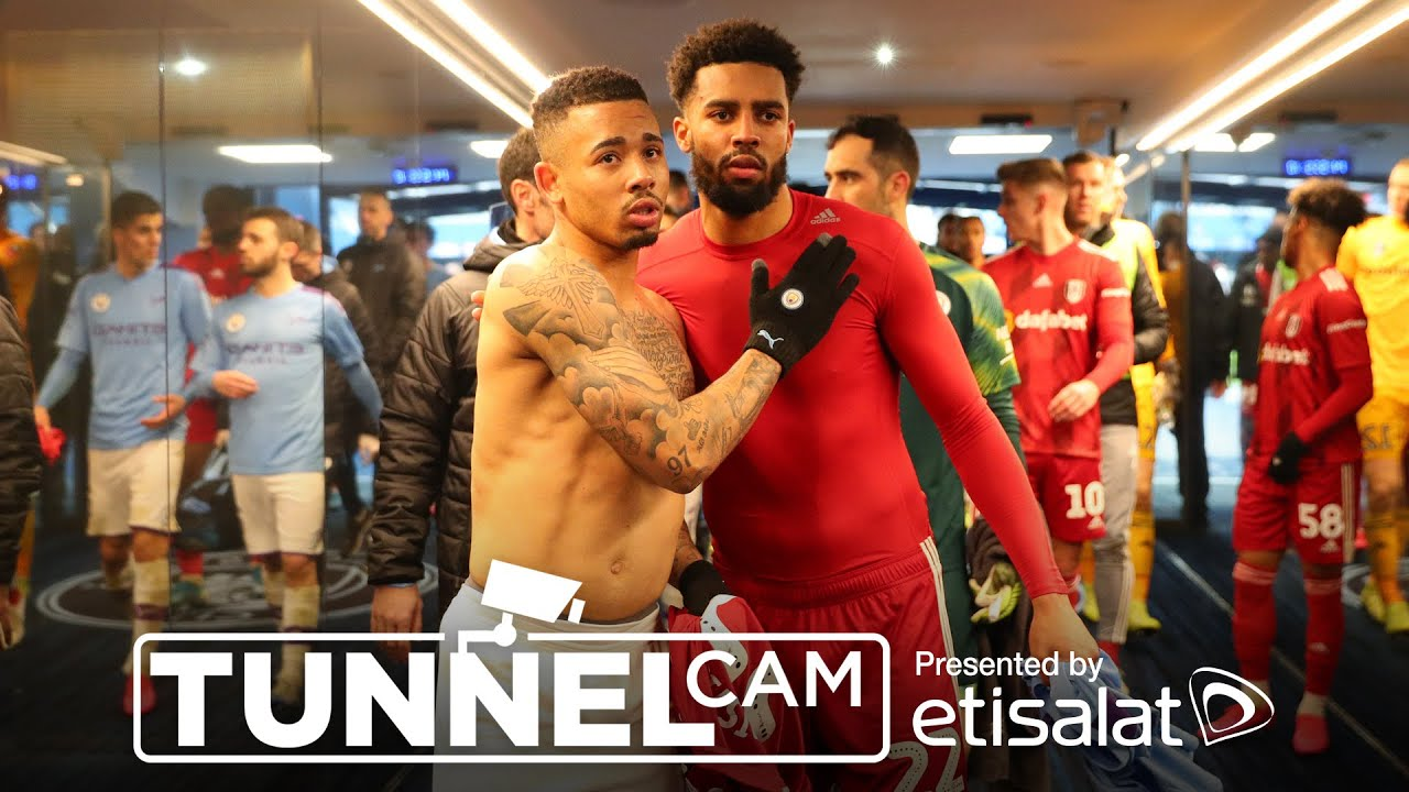 TUNNEL CAM | MAN CITY 4-0 FULHAM FC | EMIRATES FA CUP - Man City