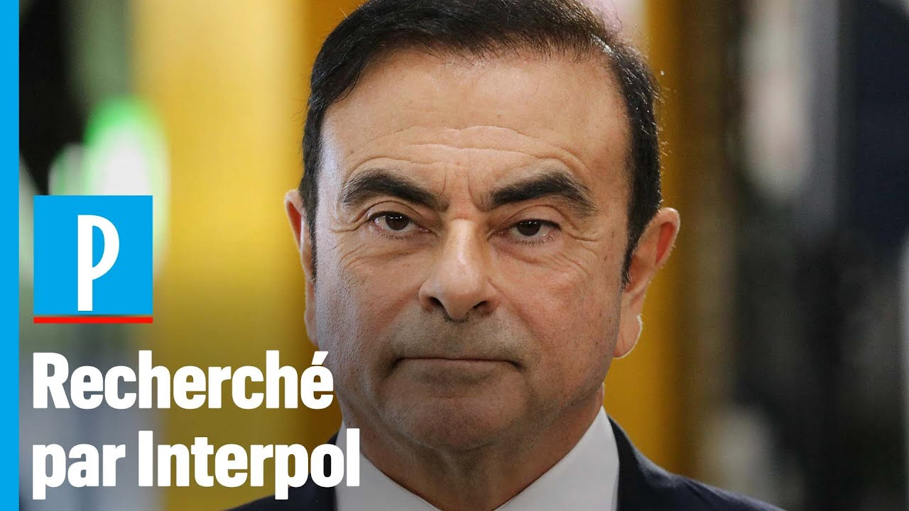 Fuite de Carlos Ghosn : Interpol a émis un mandat d'arrêt international - Le Parisien