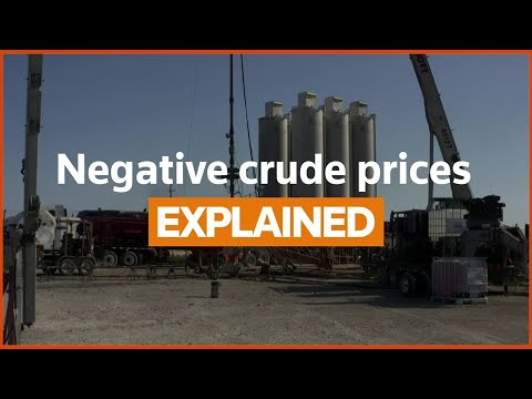 What do negative crude oil prices mean at the pump? - Reuters