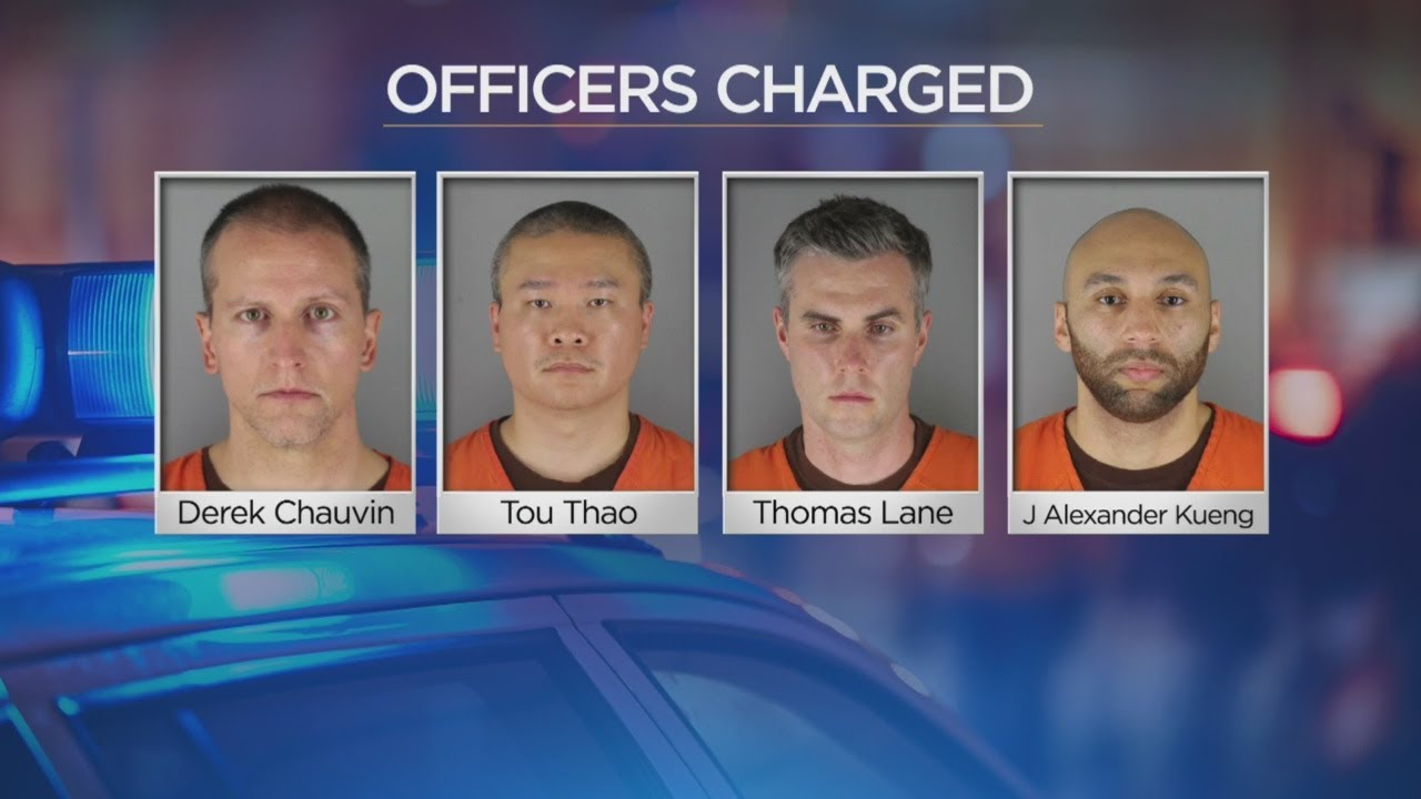 Chauvin's Now Faces 2nd-Degree Murder; 3 Other Officers Charged - WCCO - CBS Minnesota