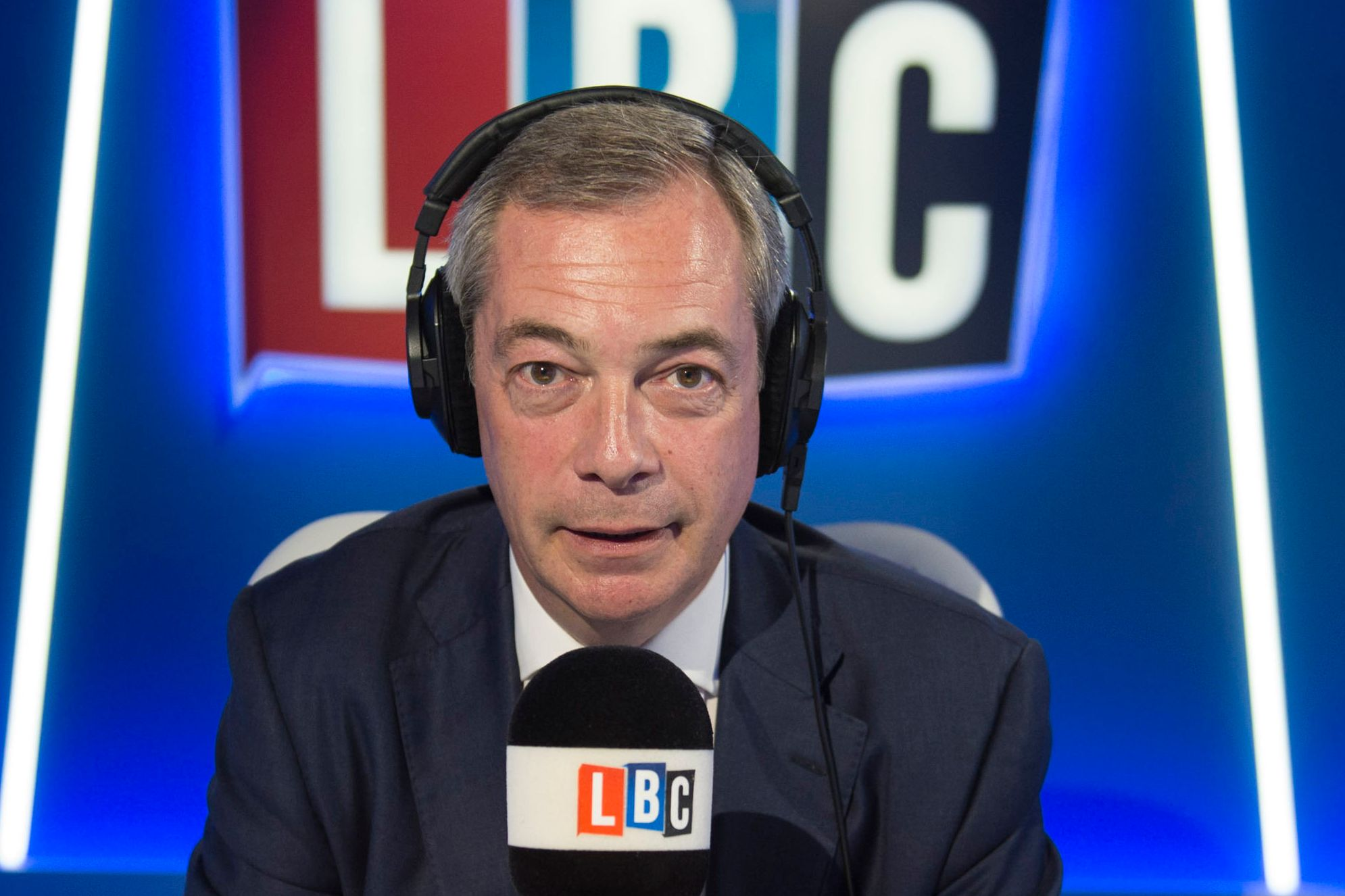 Nigel Farage leaves LBC radio station 'with immediate effect' giving bosses just hours to fill slot after con - The Sun