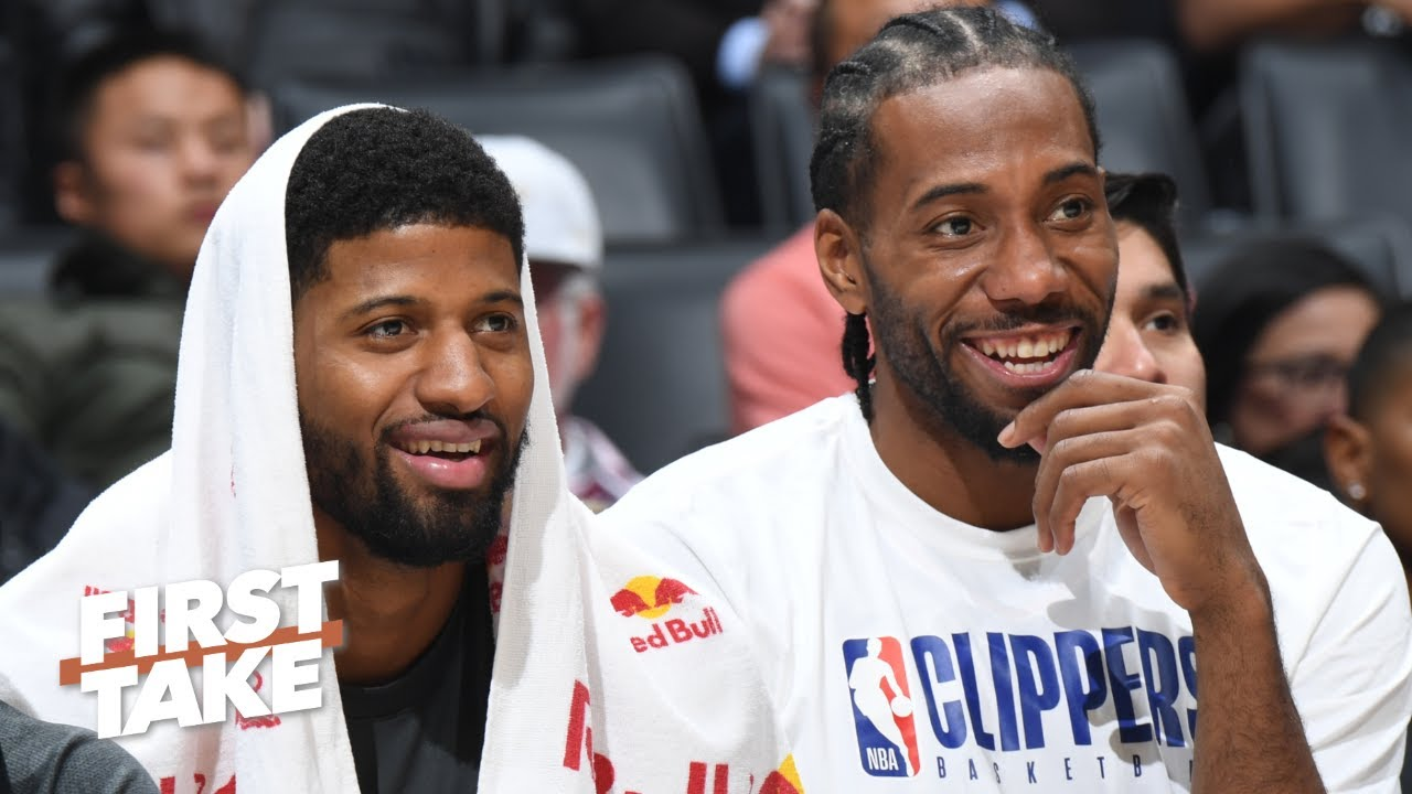 LeBron-Anthony Davis or Kawhi-Paul George? First Take debates the best duo in the NBA - 360aproko