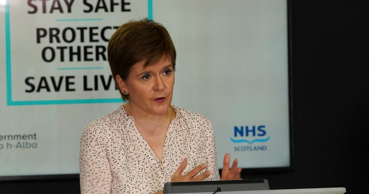Nicola Sturgeon announces three new coronavirus deaths in Scotland as cases rise to 18,251 - Daily Record