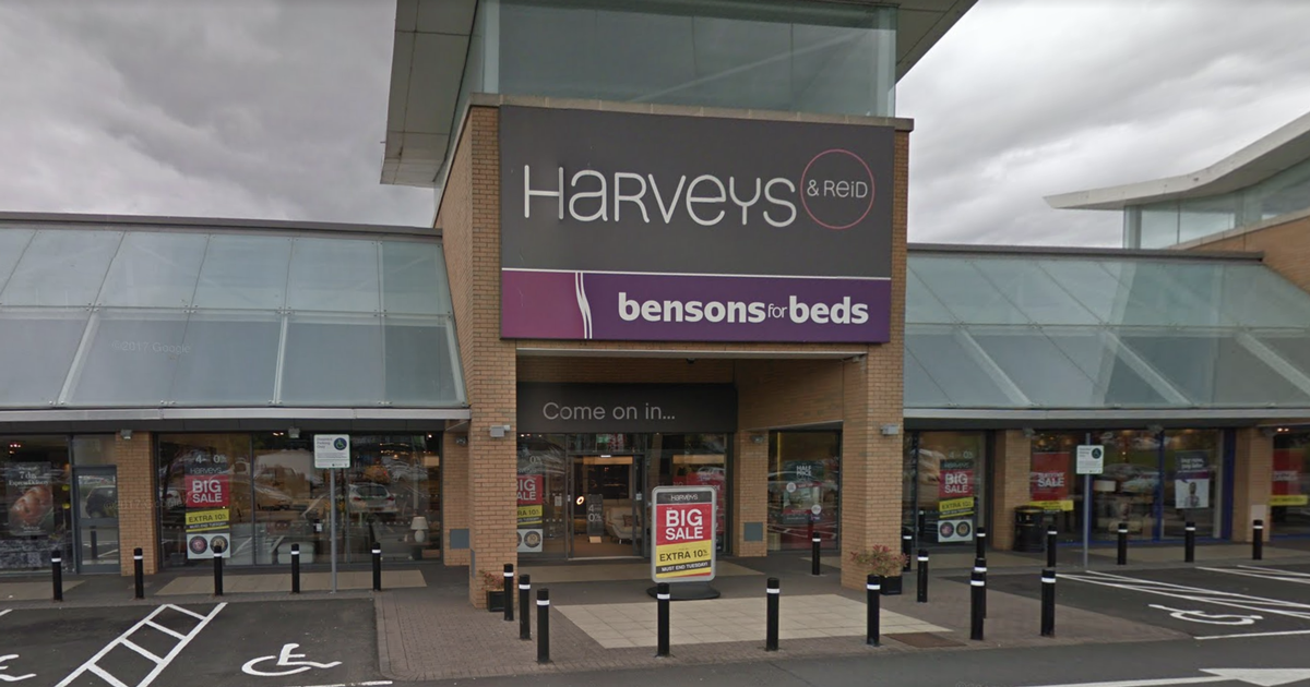 Furniture giant Harveys to enter administration today as Scots workers told by email - Daily Record