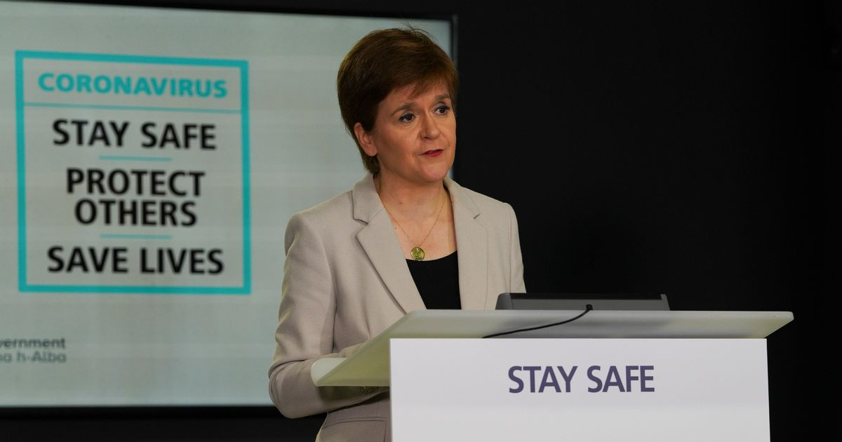 Nicola Sturgeon coronavirus update LIVE as news on cluster of cases in Dumfries and Galloway expected - Scottish Daily Record