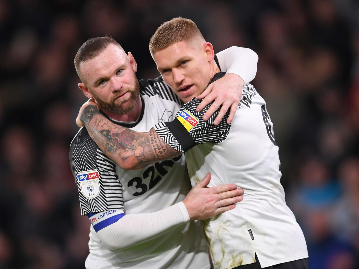 Derby County 2-1 Barnsley - report and reaction as Wayne Rooney makes winning start - Derbyshire Live