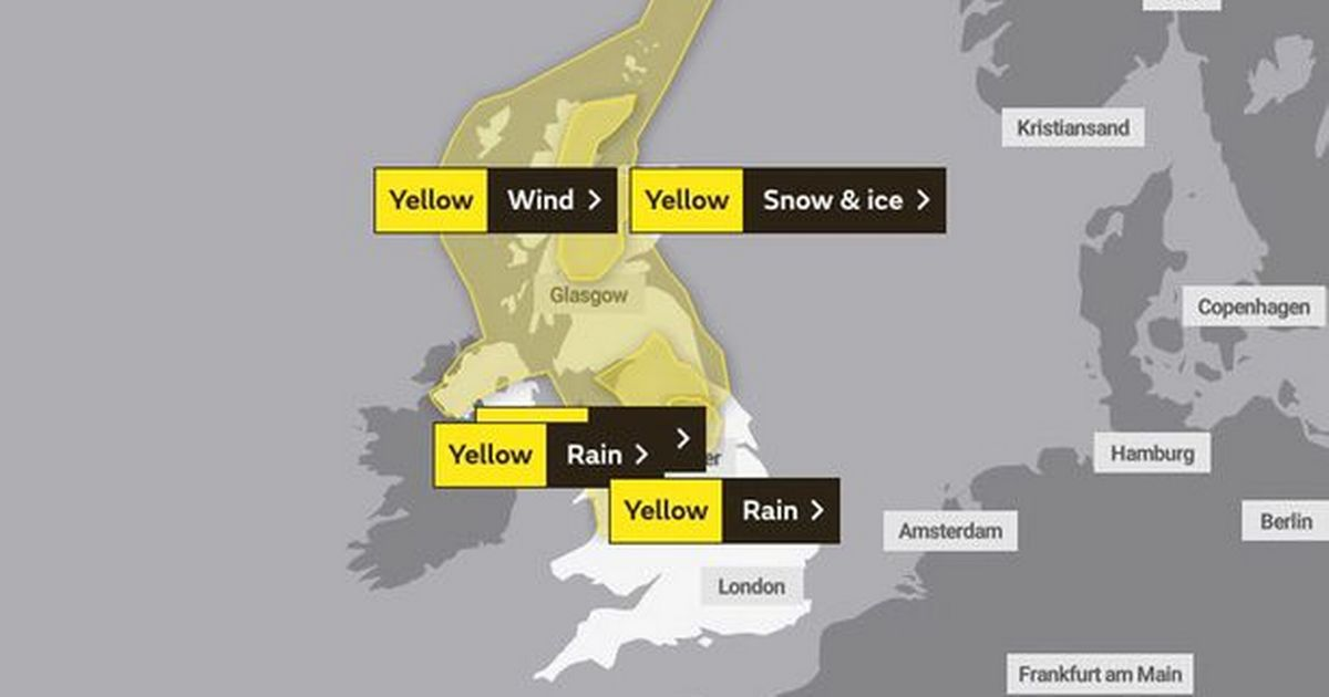 Huddersfield weather: Met Office gives update on Storm Ellen - ExaminerLive