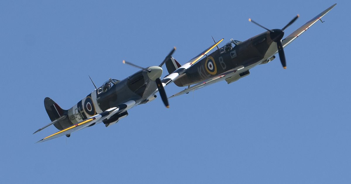 How to see spitfire and hurricane flypast over Sussex for Dame Vera Lynn's funeral - Kent Live