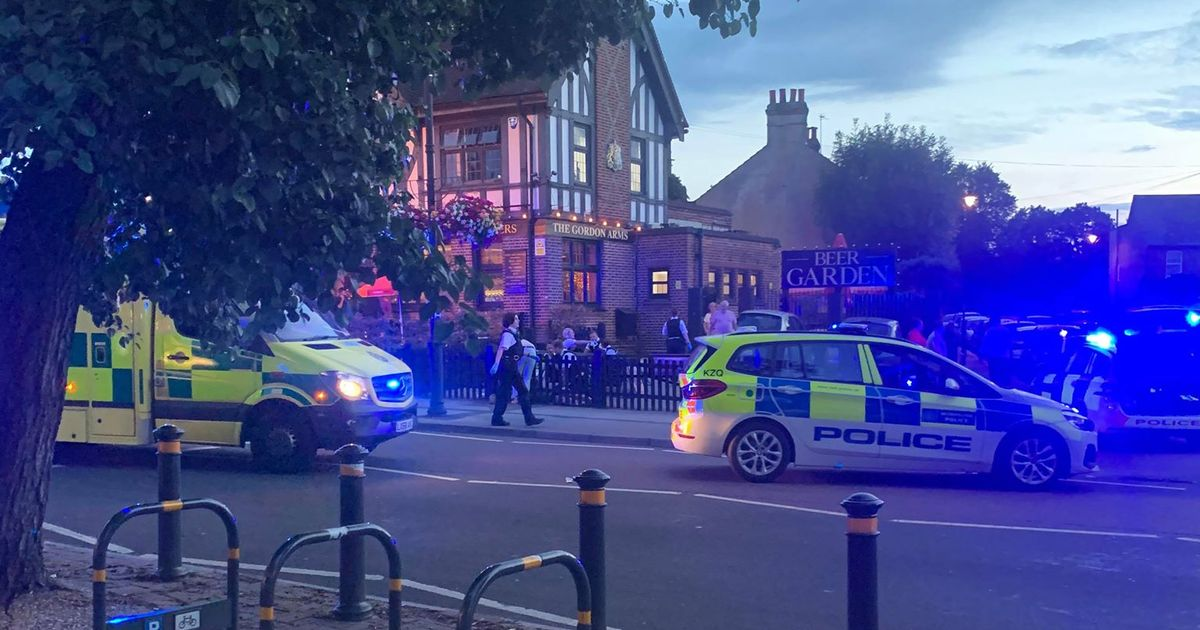 Man in his 30s killed and two more stabbed during night of chaos in Chislehurst - Kent Live