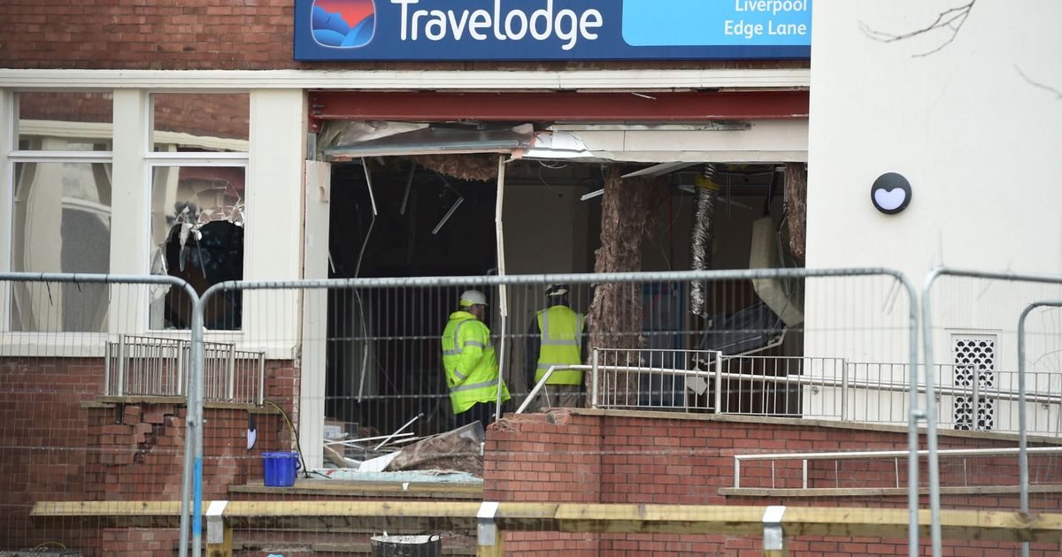 Digger driver's jail sentence for smashing up Travelodge 'another message to the working class' - Liverpool Echo