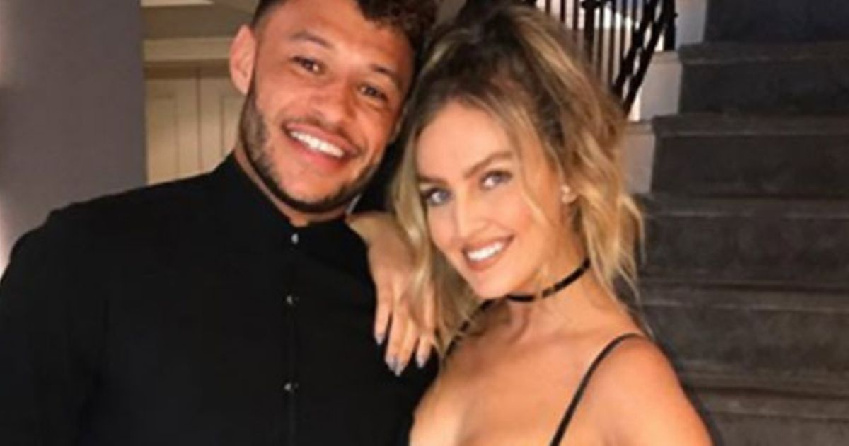 Perrie Edwards opens up on life in lockdown with Liverpool star Alex Oxlade-Chamberlain - Liverpool Echo