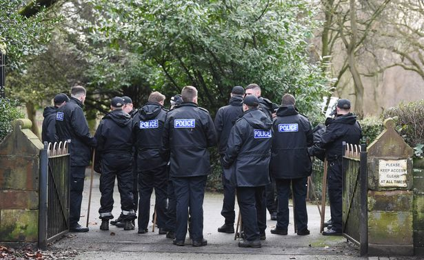 55 police officers descend on churchyard in 'search for dangerous weapons' - Liverpool Echo