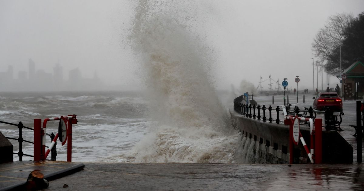 Merseyside braced for four more days of heavy rain and high winds - Liverpool Echo