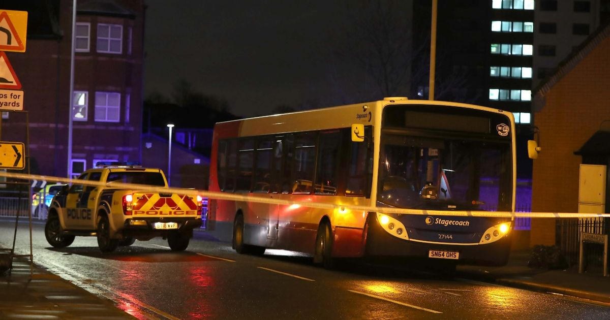 Woman fighting for life after being hit by bus while crossing the road - Liverpool Echo