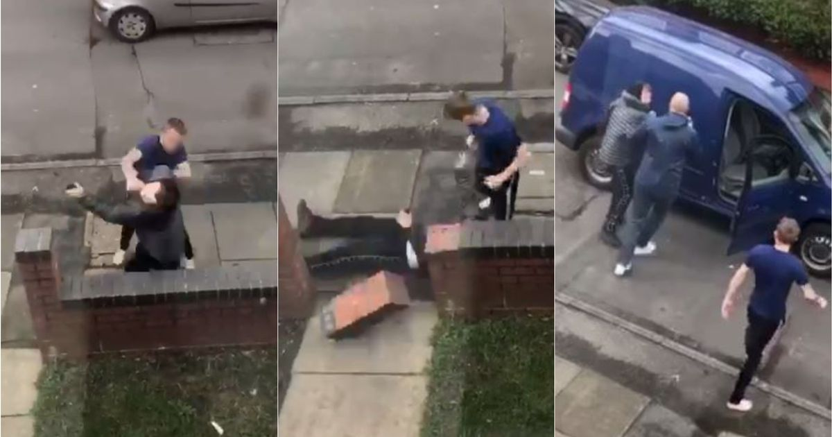 Lad punched so hard he breaks garden wall after 'crashing car' and 'fleeing the scene' - Liverpool Echo