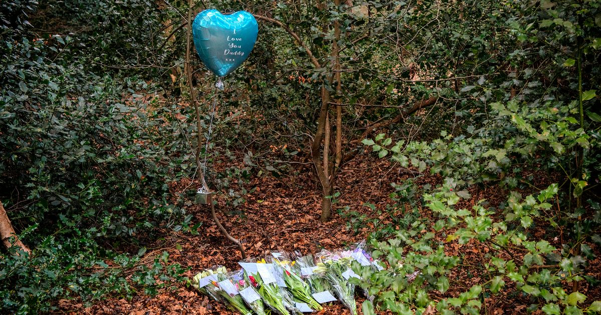 Tributes to 'Lord Pendlebury' left at scene after dog walker found dead body in woodland - Liverpool Echo