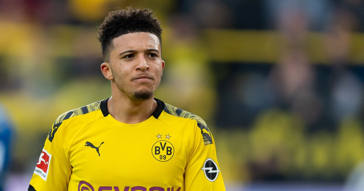 How much Jadon Sancho would really cost if Liverpool were to make their move - Liverpool Echo