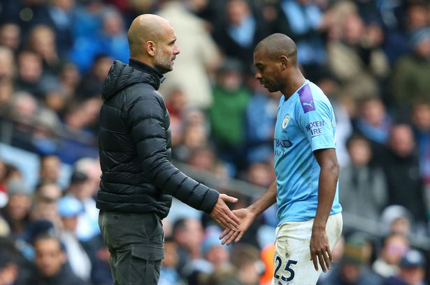 Pep Guardiola must make Fernandinho Man City change to avoid repeating Leicester mistake vs Wolves - Manchester Evening News