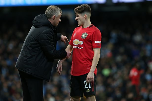 Daniel James is about to face his first Manchester United challenge - Manchester Evening News