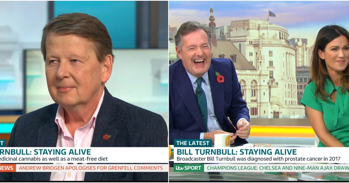 Bill Turnbull to replace Piers Morgan in return to breakfast TV after cancer battle - Manchester Evening News