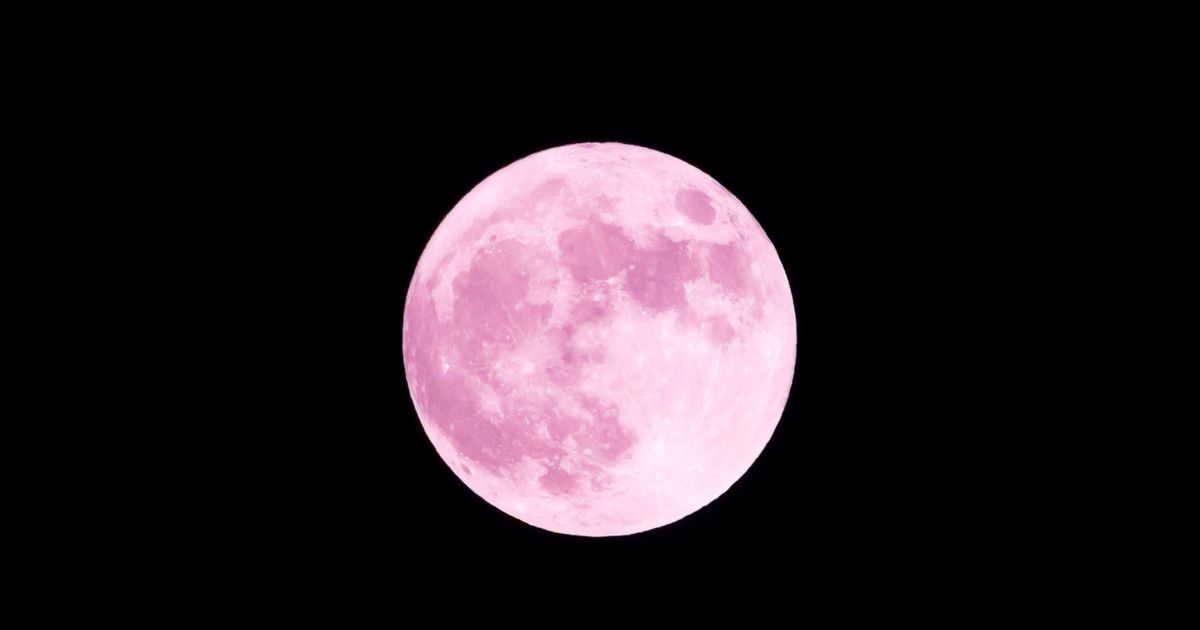 Rare pink supermoon will appear in the sky this Wednesday - Mirror Online