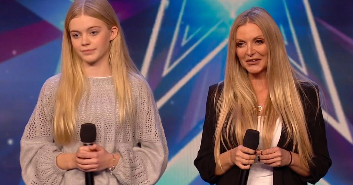 BGT fans in disbelief over hopeful's real age as she performs with young daughter - Irish Mirror