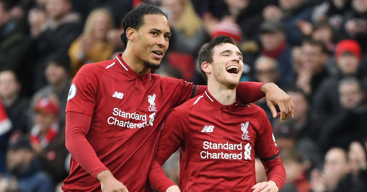 Liverpool dominate Match of the Day fans' team of the season - Irish Mirror