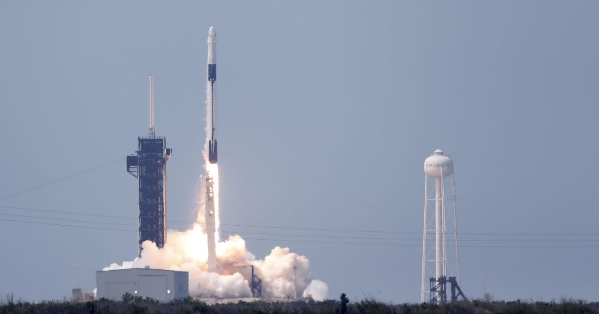 SpaceX to launch rocket tomorrow night following historic astronaut mission - Mirror Online
