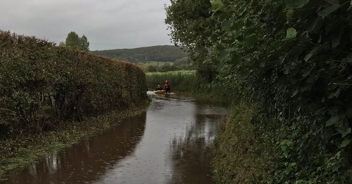 Storm Dennis: Environment Agency issues warning of imminent floods as roads close across Somerset - Somerset Live