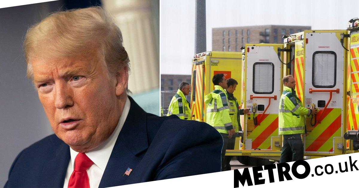 Donald Trump says UK's response to coronavirus 'very catastrophic' - Metro.co.uk