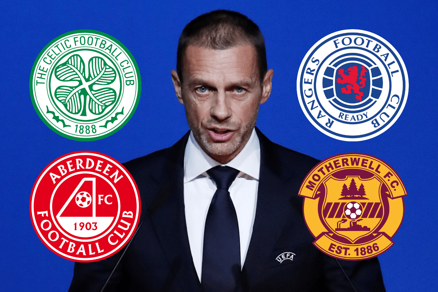 Uefa warn Celtic, Rangers, Aberdeen and Well they'll be BARRED from Europe if SPFL declare champions - The Scottish Sun