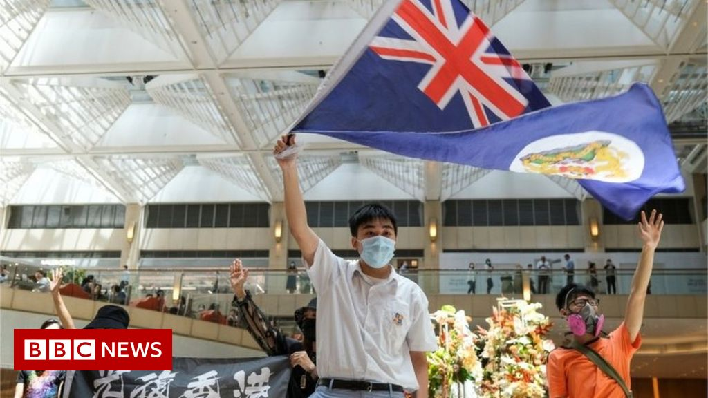 UK seeks allies to help with potential Hong Kong 'exodus' - BBC News