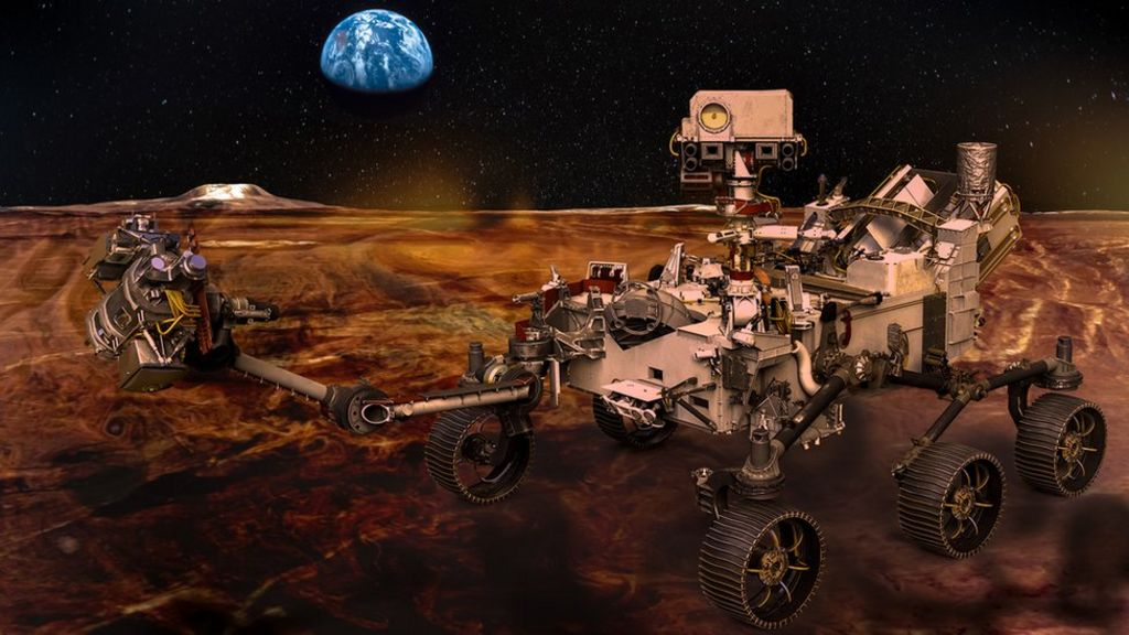Space: What should Nasa's next Mars rover be called? - CBBC Newsround