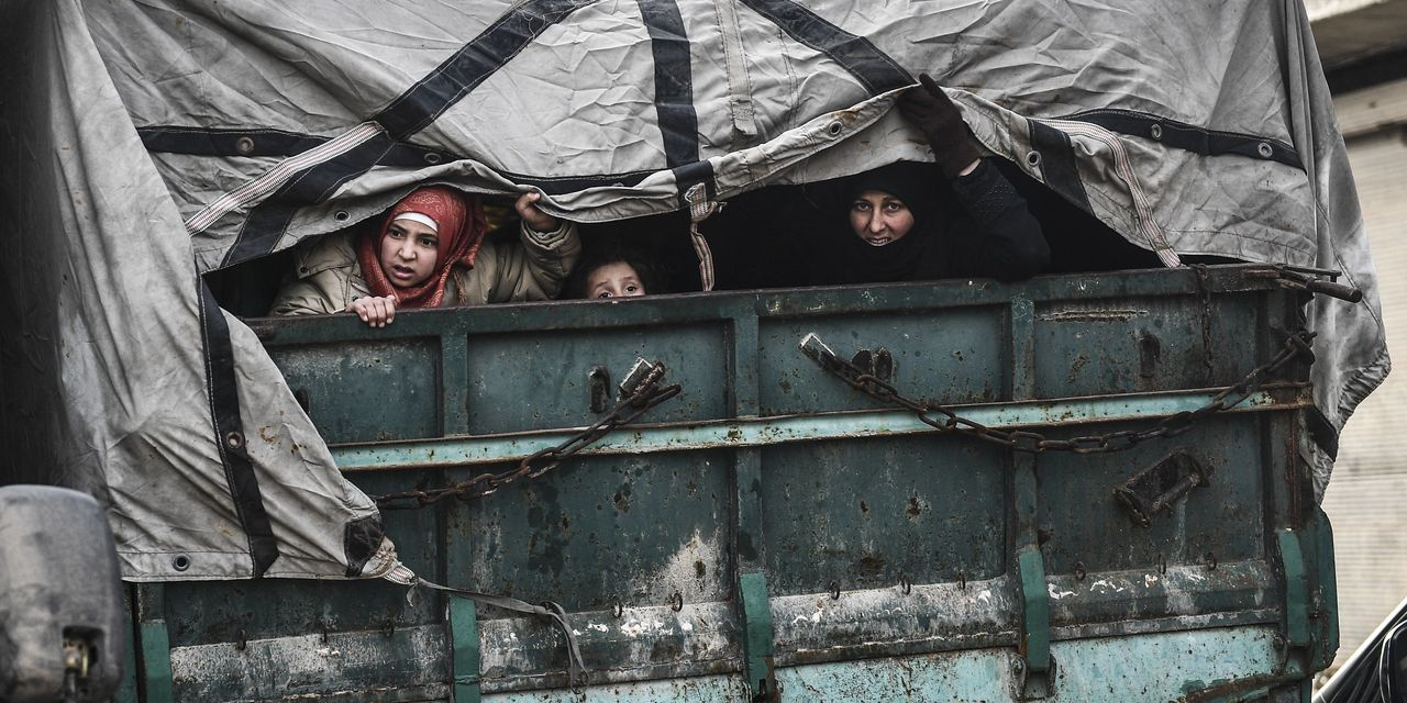 Turkey-Russia Standoff in Syria Leaves Millions of Refugees Caught in Chaos - The Wall Street Journal