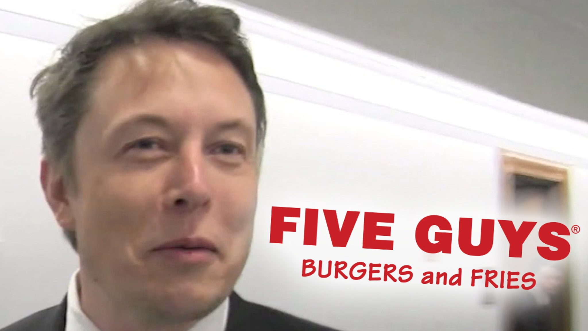 Elon Musk Grabbed Five Guys Burger After SpaceX Launch Postponement - TMZ