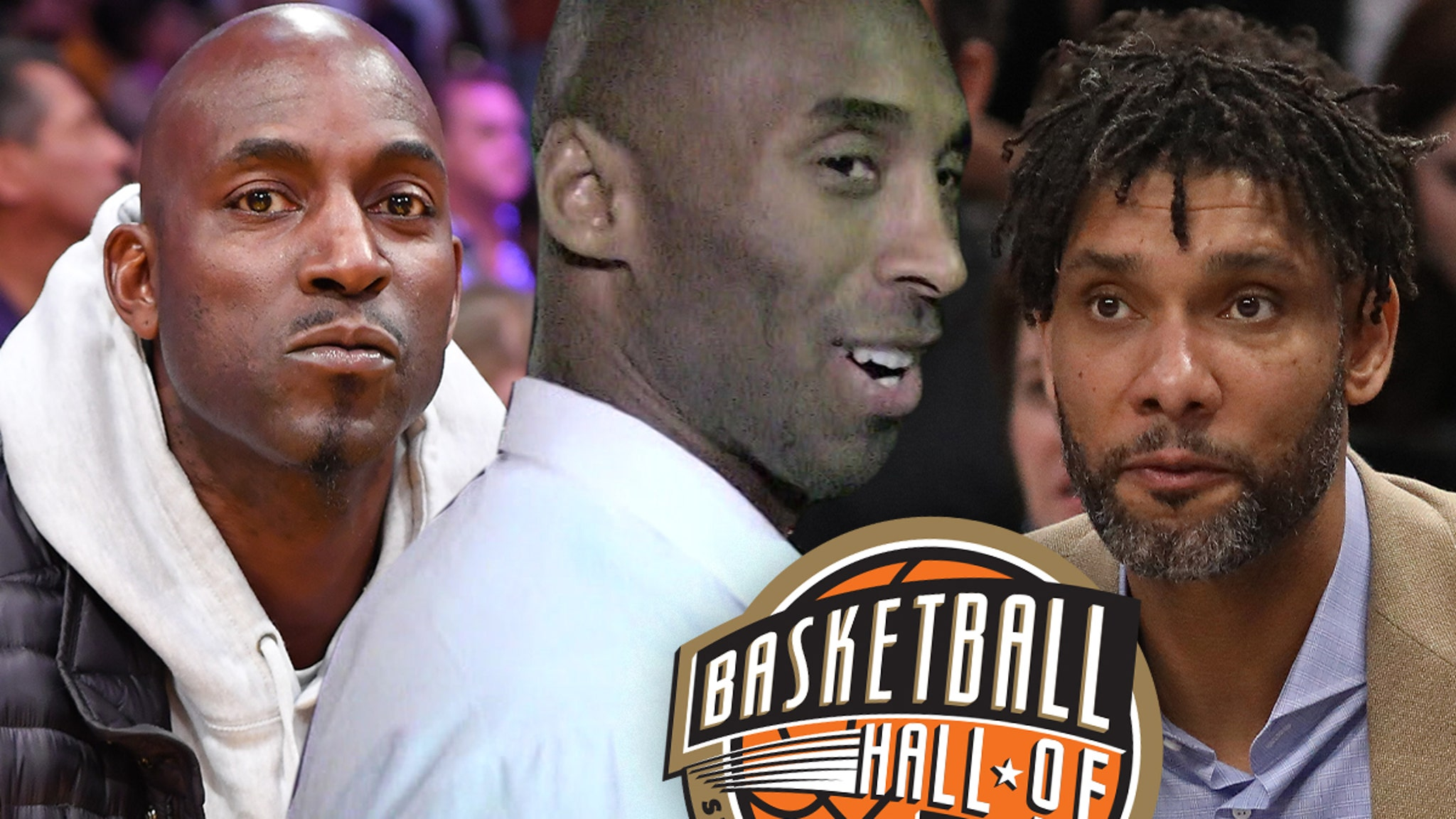 Kobe Bryant To Be Inducted Into Basketball Hall of Fame With KG, Tim Duncan - TMZ