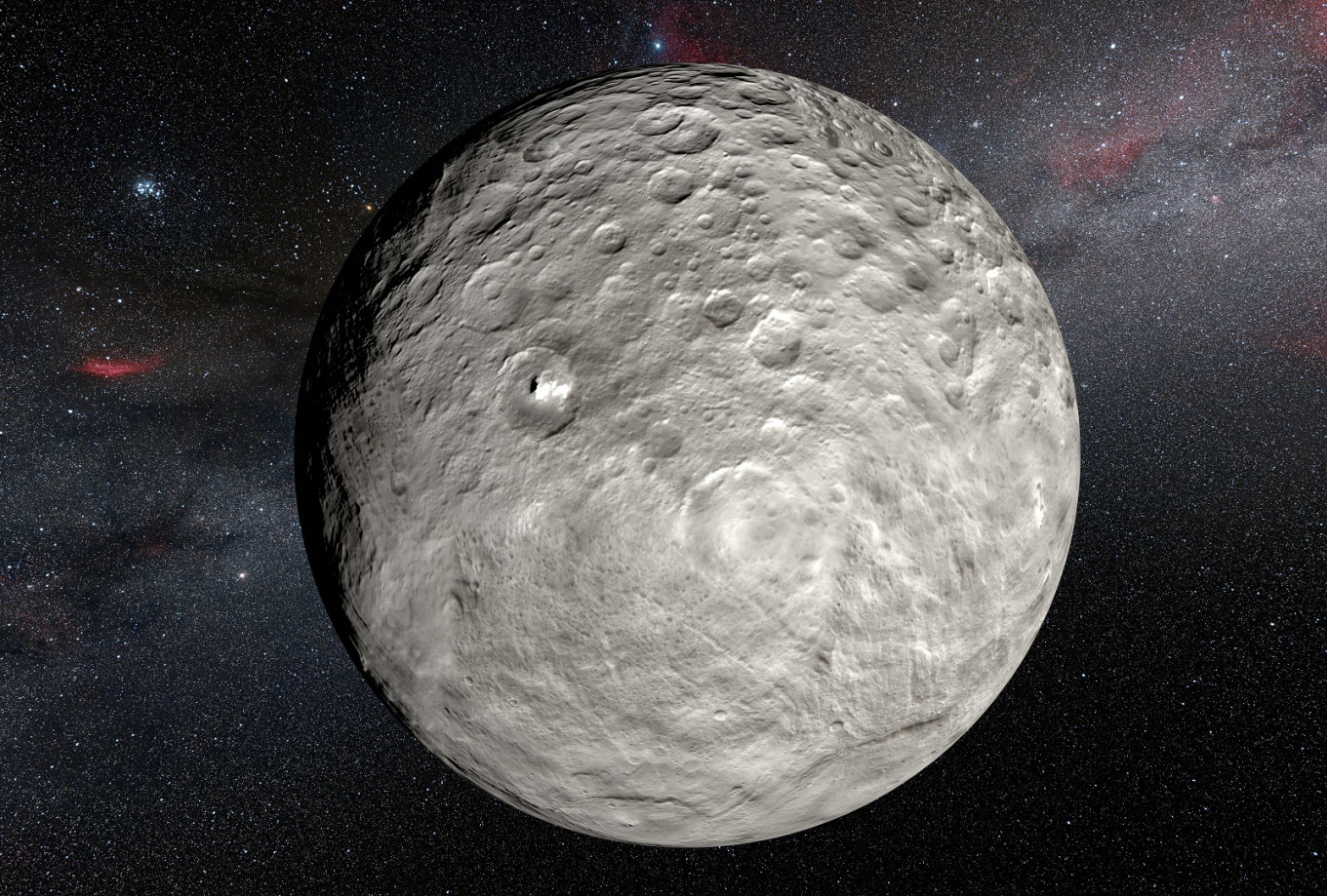 Dwarf planet Ceres is an ocean world: Study - The Jakarta Post - Jakarta Post