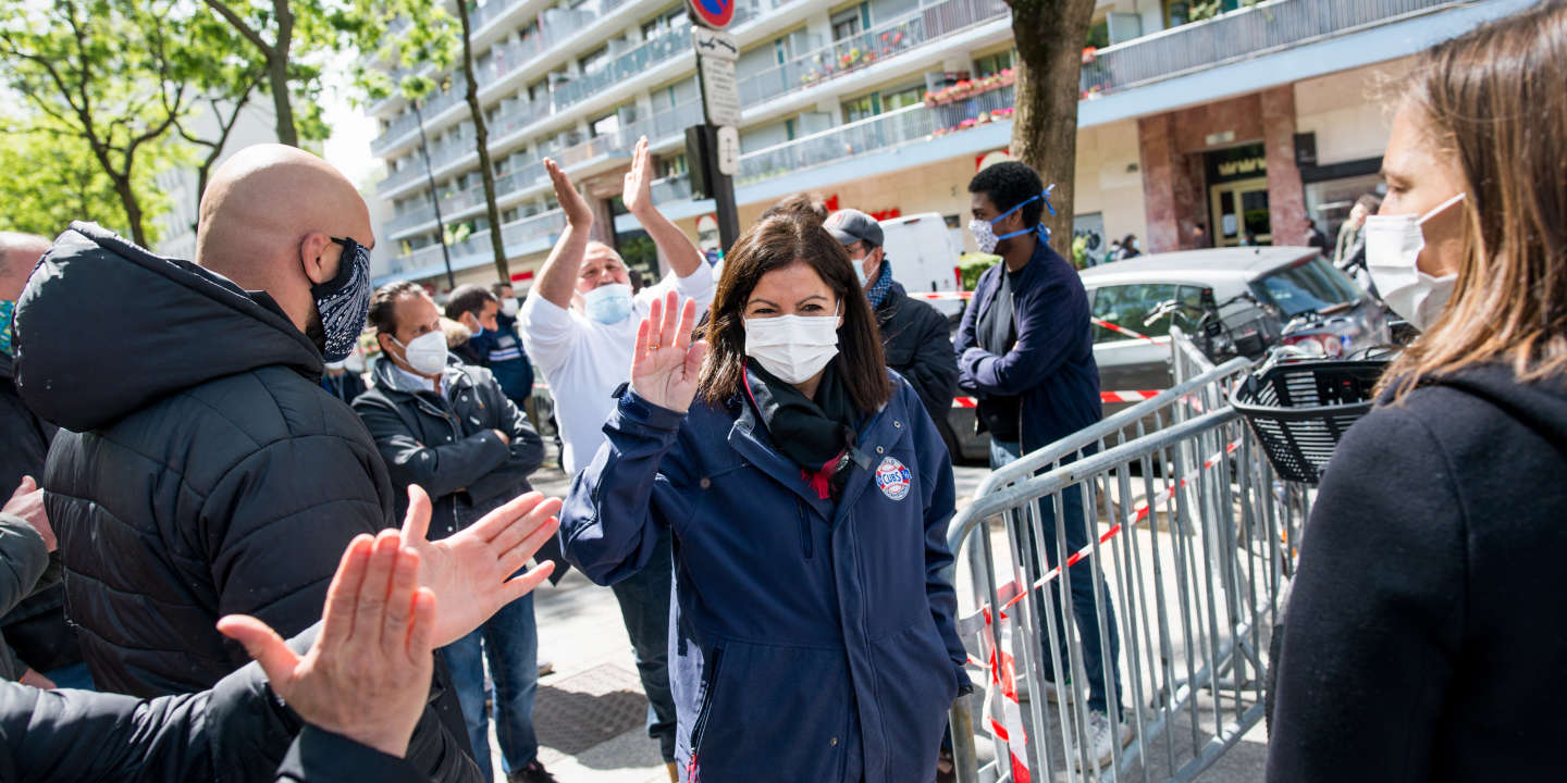 Elections municipales : à Paris, Anne Hidalgo et les Verts concluent un accord pour le second tour - Le Monde