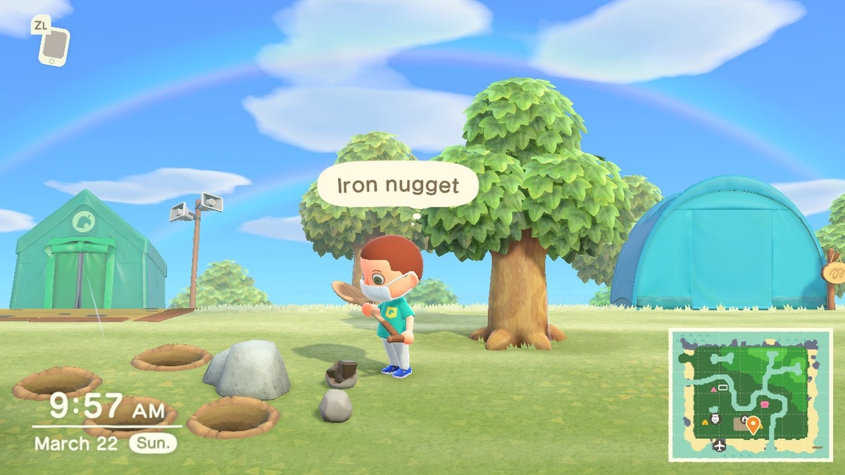 'Animal Crossing: New Horizons' tools guide: How to get iron nuggets, axe, shovel - Inverse