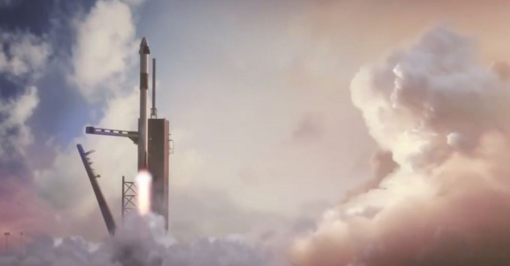 Elon Musk Tweets Simulation of the First Crewed Falcon 9 Flight - Interesting Engineering