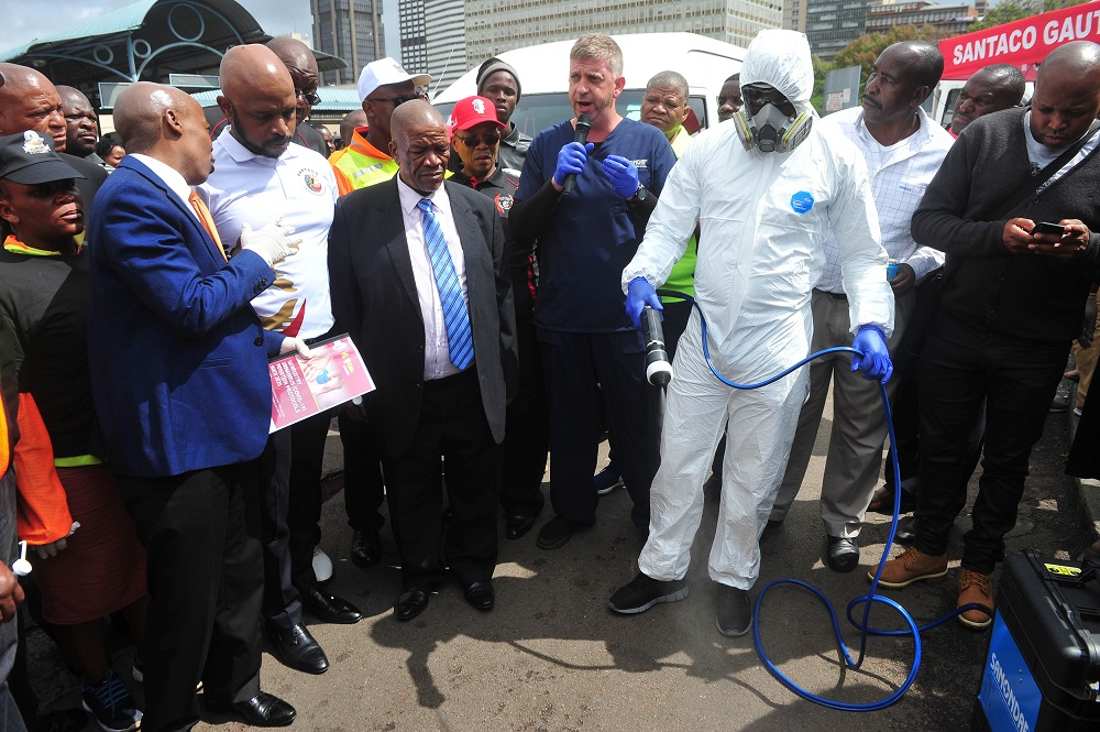 Santaco rolls out sanitising programme at taxi ranks - SowetanLIVE