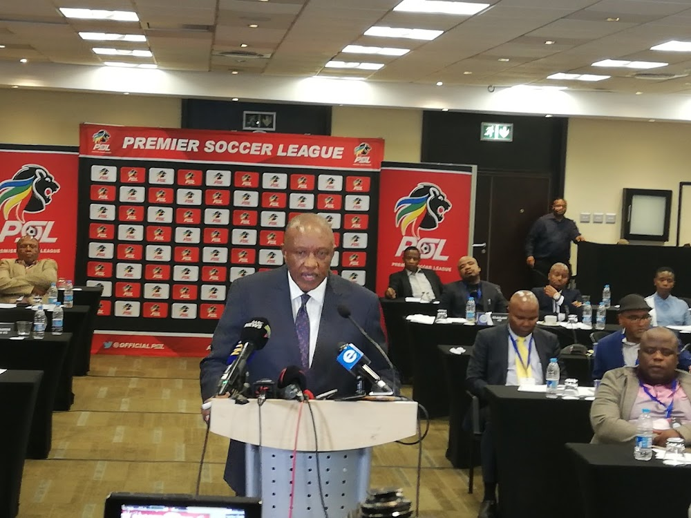 Irvin Khoza: PSL has agreed to suspend all matches indefinitely - SowetanLIVE