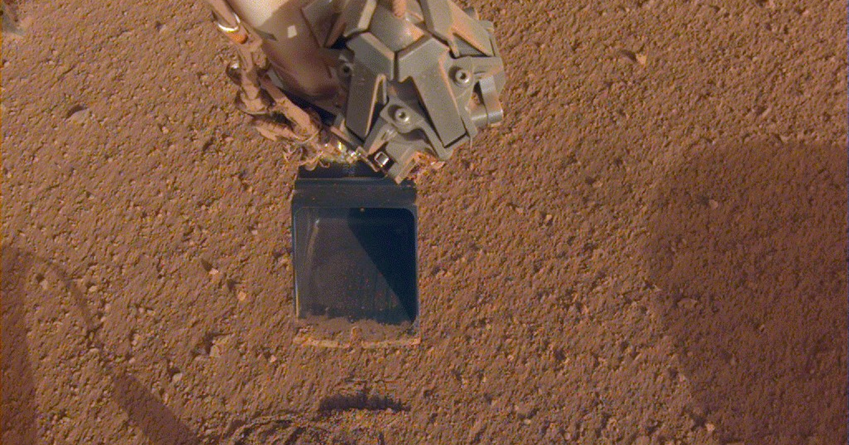 Here's NASA's new idea to get its stubborn Martian drill to work - Mashable
