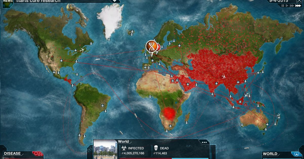 Pandemic simulation game 'Plague Inc' pulled from China's App Store - Mashable