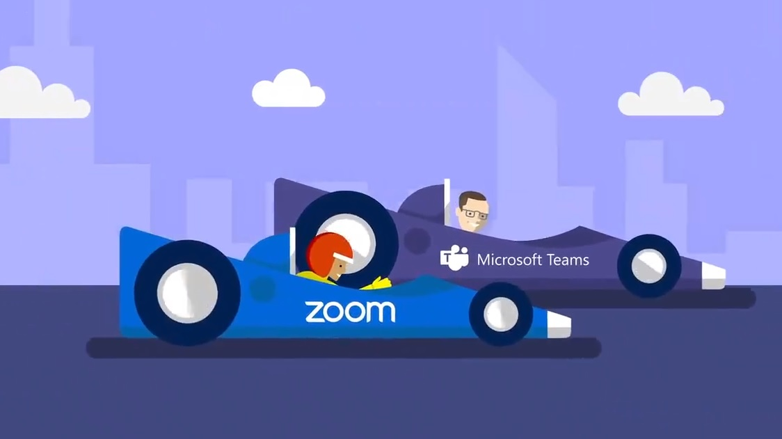 Microsoft Teams is feeling threatened by Zoom video conferencing solution - MSPoweruser - MSPoweruser