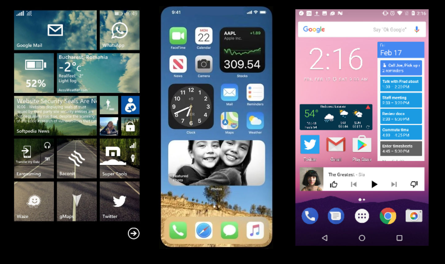 With iOS 14, did Apple copy Windows Phone or Android widgets? - MSPoweruser - MSPoweruser