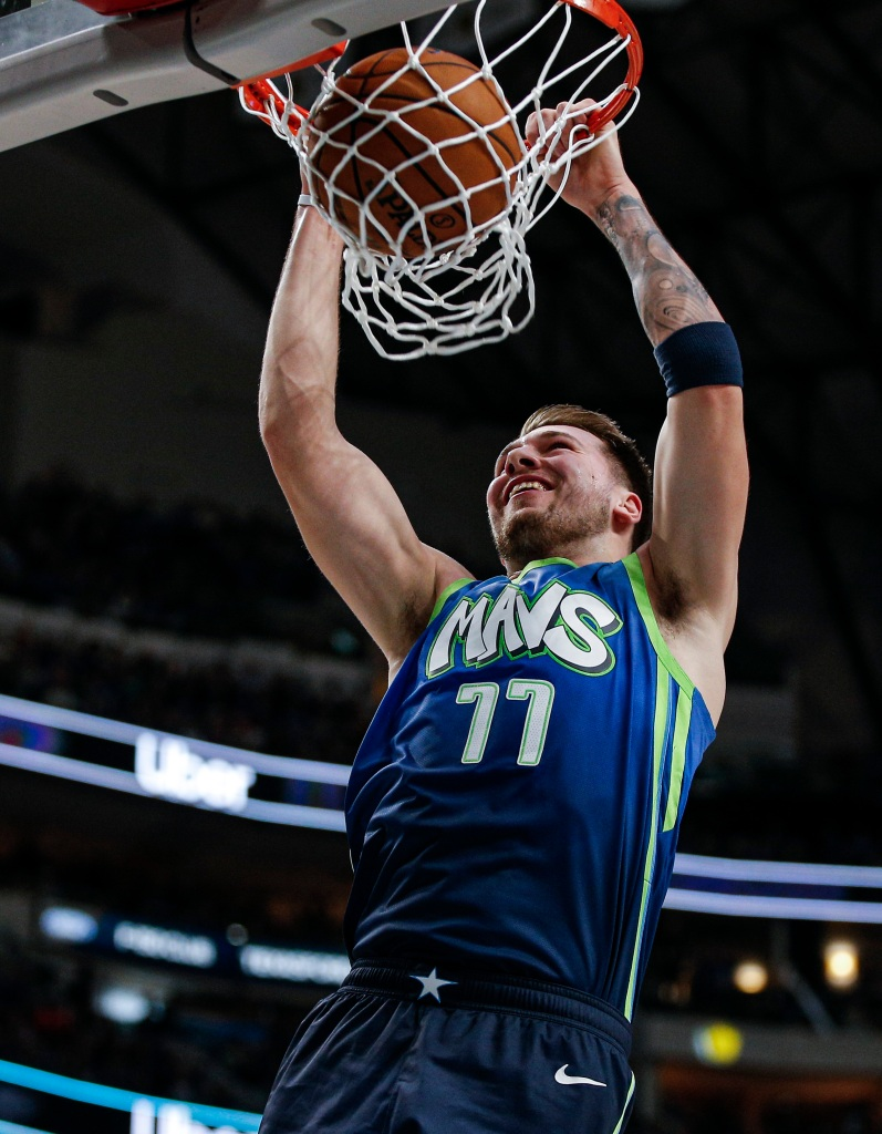 Watch Seth Curry's no-look pass to Luka Doncic for a dunk - NBC Sports - Misc.
