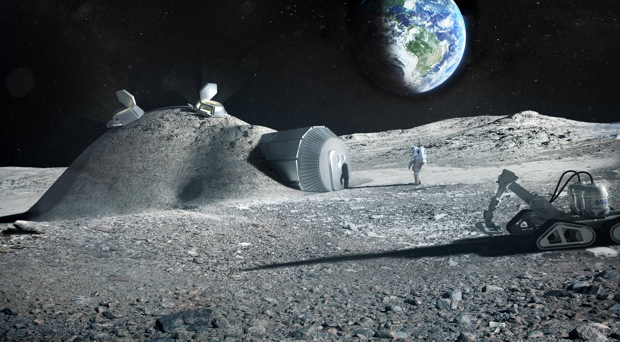 Are you extracting the urine, ESA? Why, yes it is, from Moon dwellers to build homes out of lunar regolith. Possibly - The Register