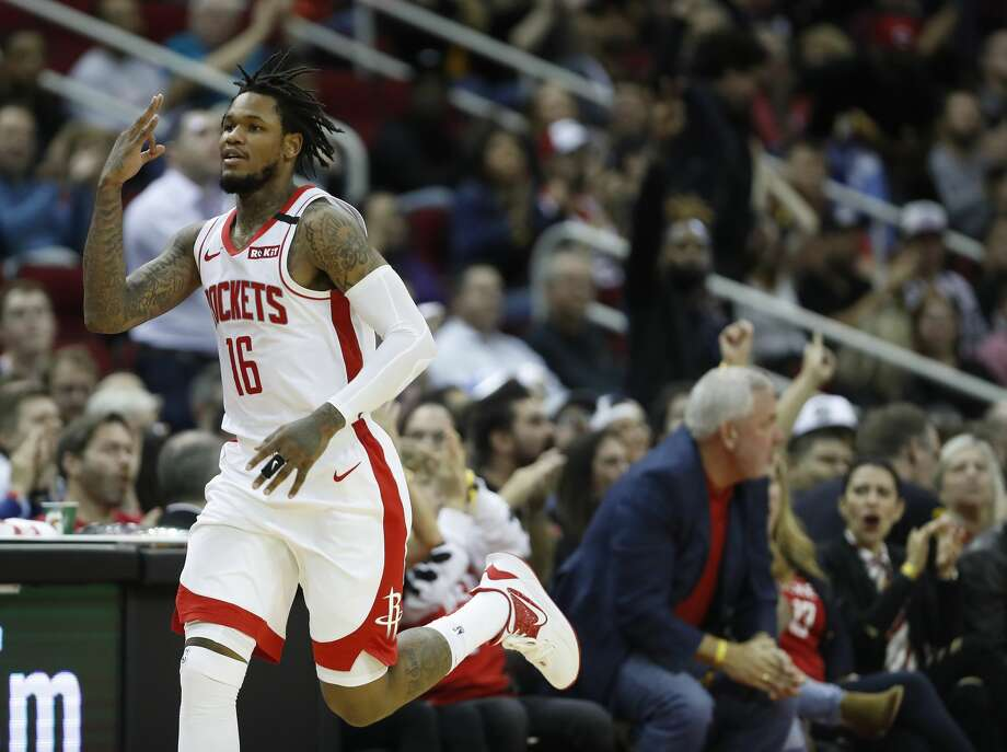 Rockets' Ben McLemore cites boost in confidence for 3-point shooting surge - Houston Chronicle